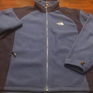 The North Face fleece jacket or liner.  Size XXL